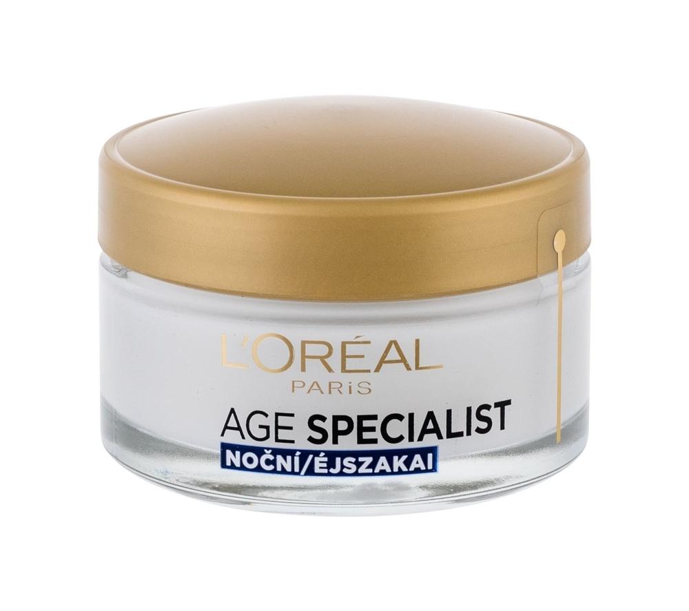 L/oreal Age Specialist 65+ Night Cream - Anti-wrinkle Night Cream With Multivitamins 50ml