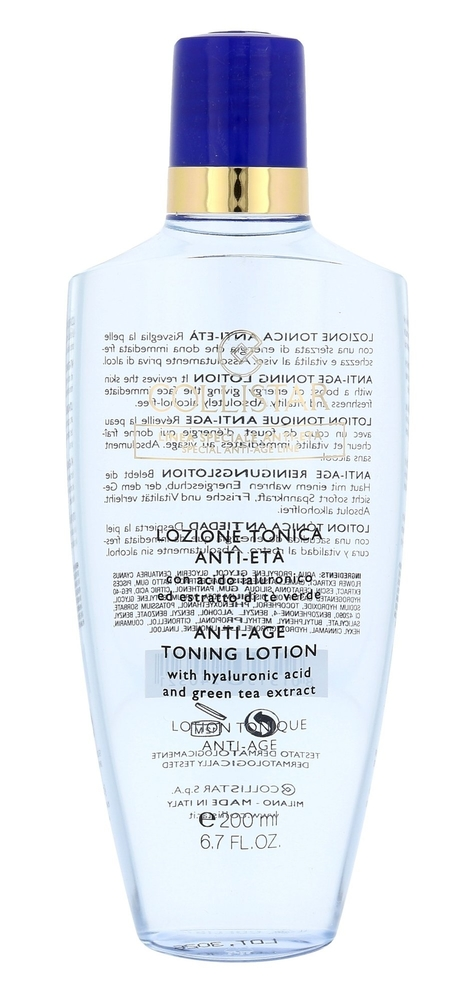 Collistar Special Anti-age Toning Lotion Cleansing Water 200ml (All Skin Types)