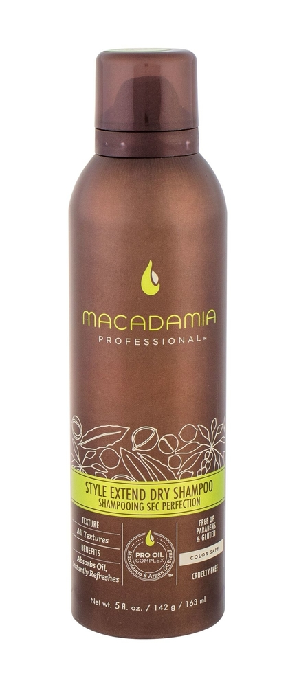Macadamia Professional Style Extend Dry Shampoo Dry Shampoo 163ml (All Hair Types)