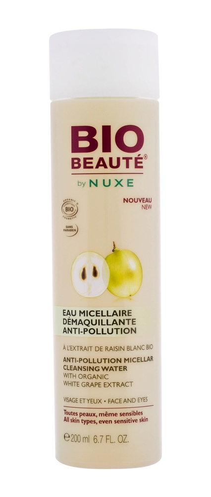 Nuxe Bio BeautE Anti-pollution Micellar Water 200ml (All Skin Types)