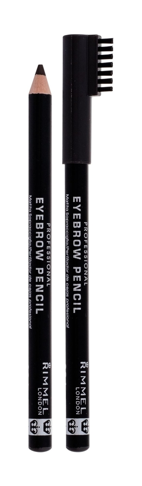 Rimmel London Professional Eyebrow Pencil Eyebrow Pencil 1,4gr 004 Black Brown