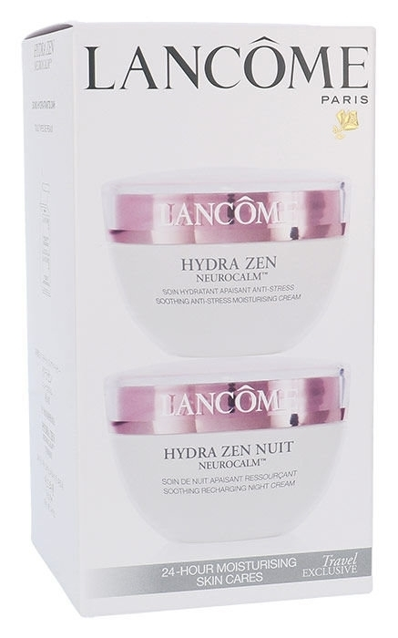 Lancome Hydra Zen Anti-stress Day Cream 50ml Combo: Skin Cream Hydra Zen Anti-stress 50 Ml + Night Cream Hydra Zen Nuit 50 Ml (All Skin Types - For All Ages)