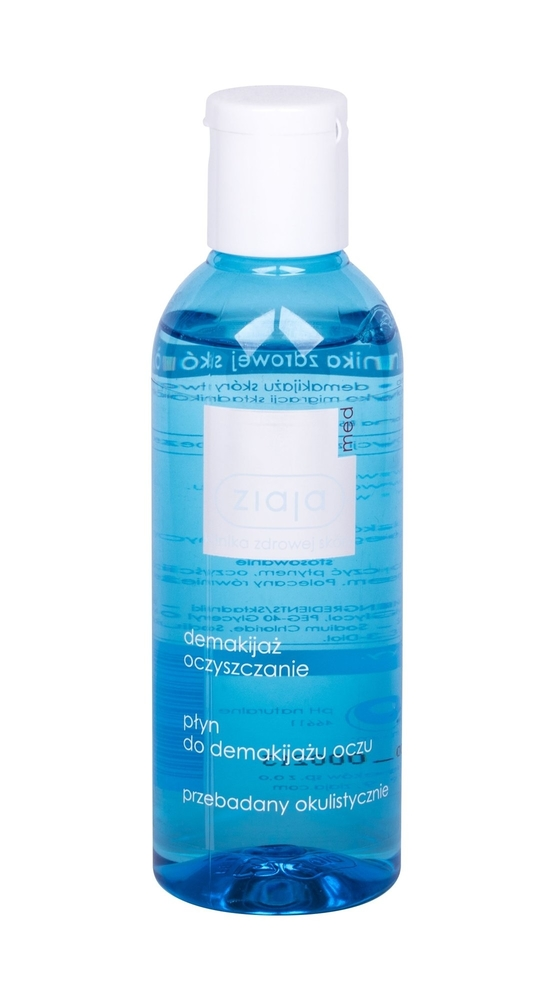 Ziaja Med Cleansing Eye Make-up Remover Eye Makeup Remover 200ml Alcohol Free
