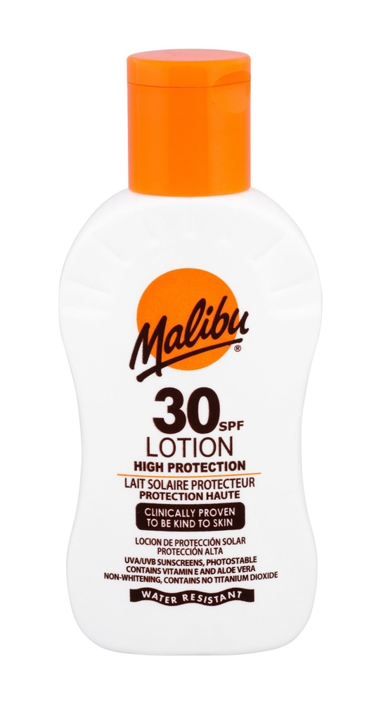 Malibu Lotion Sun Body Lotion 100ml Waterproof Spf30 oμορφια   αντηλιακή προστασία   αντηλιακά σώμα πρόσωπο   αντηλιακά