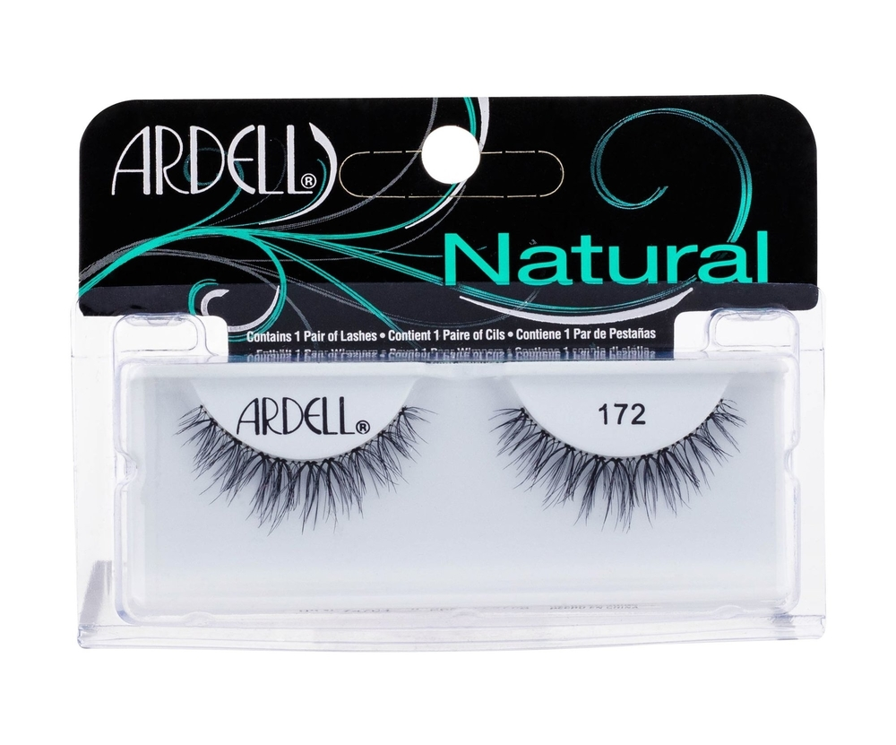 Ardell Natural 172 False Eyelashes 1pc Black