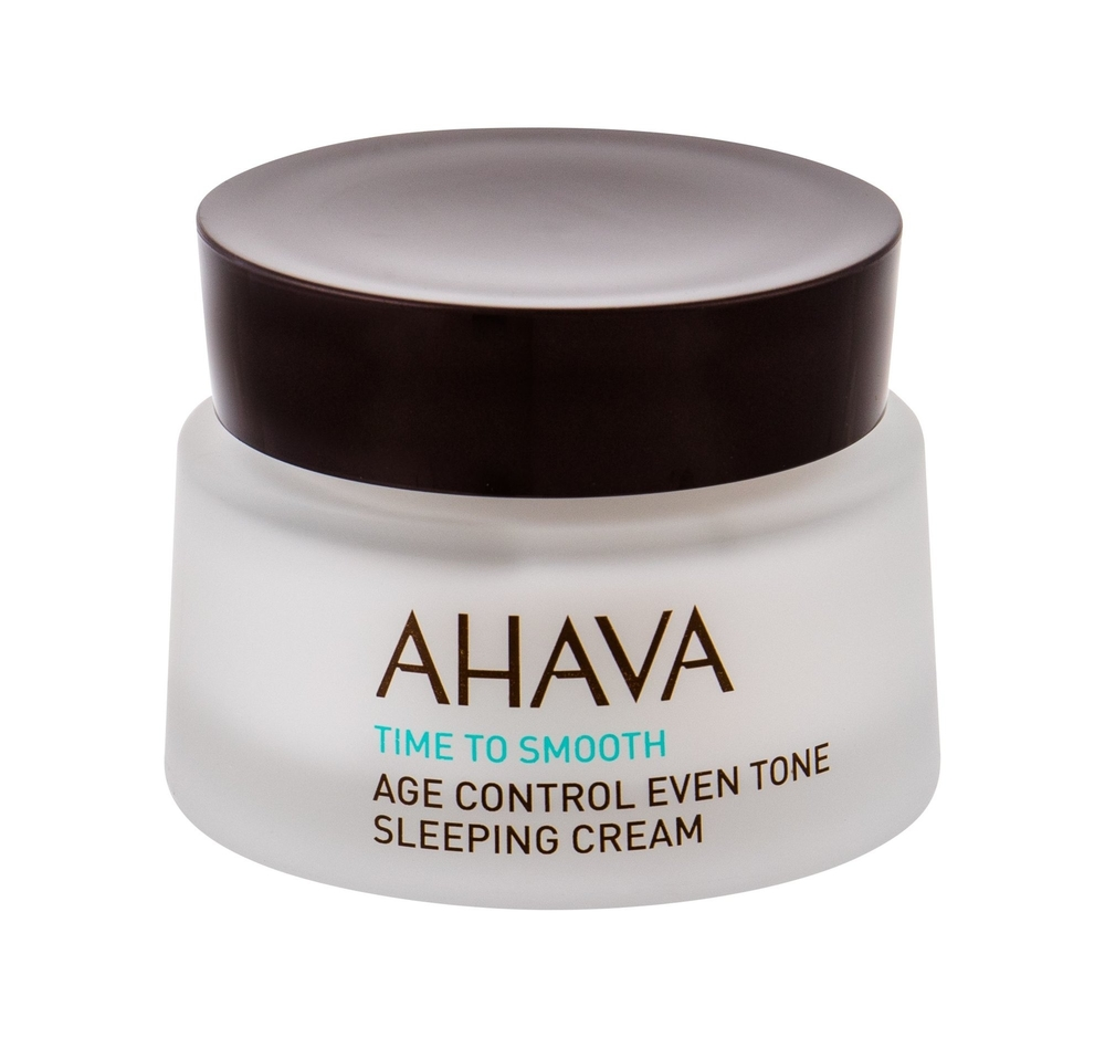 Ahava Age Control Time To Smooth Night Skin Cream 50ml (All Skin Types - For All Ages)
