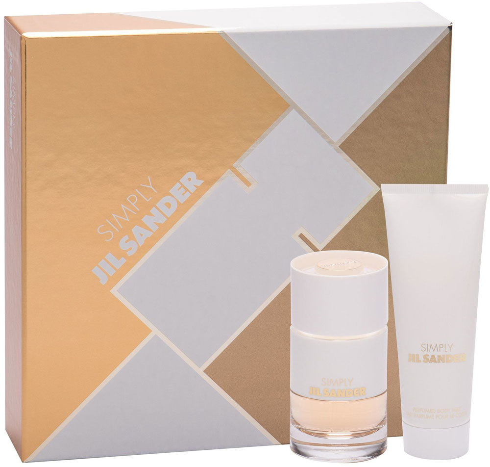 Jil Sander Simply Jil Sander Eau de Toilette 40ml Combo: Edt 40 Ml + Body Lotion 75 Ml