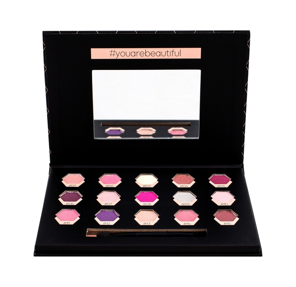 2k Polygon Rose Eye Shadow 6,75gr