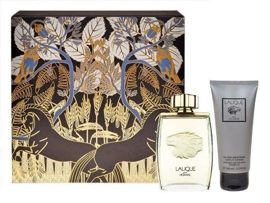 Lalique Pour Homme Eau De Parfum 125ml Combo: Edp 125ml + 100ml Shower Gel