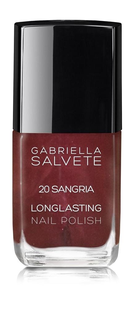 Gabriella Salvete Longlasting Enamel Nail Polish 11ml 20 Sangria