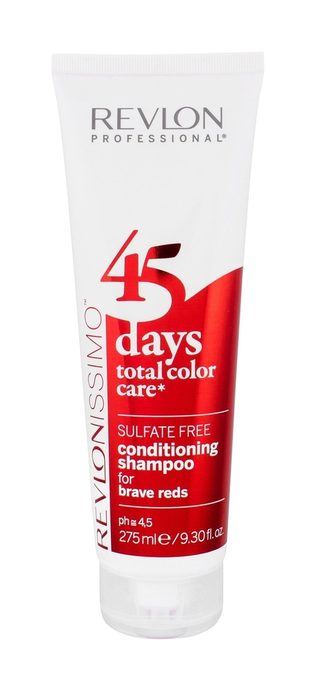Revlon Professional Revlonissimo 45 Days 2in1 For Brave Reds Shampoo 275ml (Colored Hair)