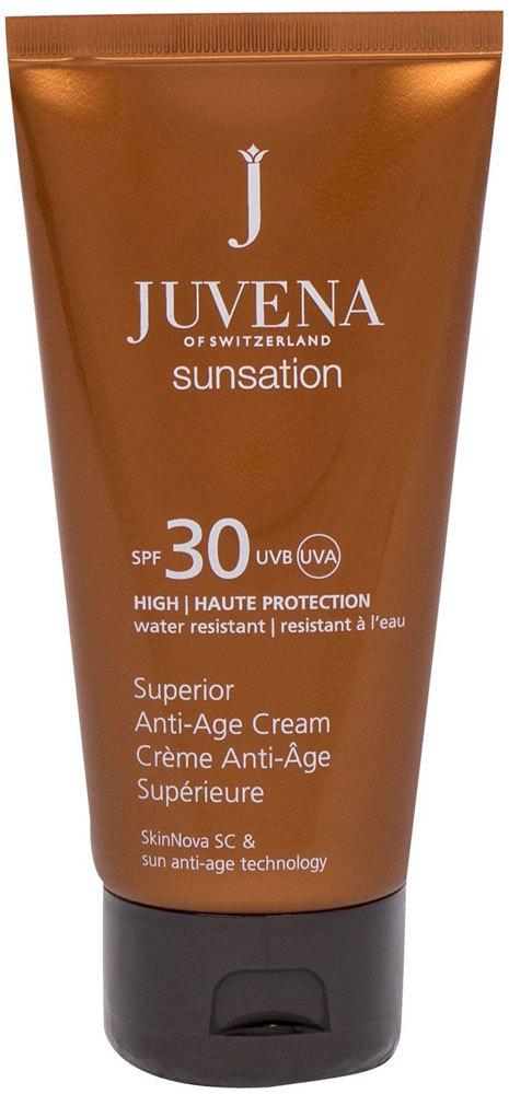 Juvena Sunsation Superior Anti-Age Cream SPF30 Face Sun Care 75ml (Waterproof)