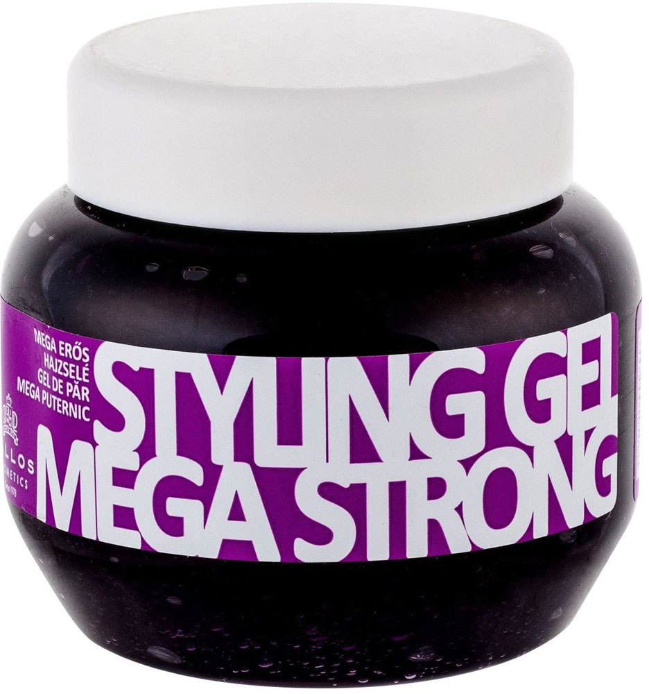 Kallos Cosmetics Styling Gel Mega Strong Hair Gel 275ml (Strong Fixation)