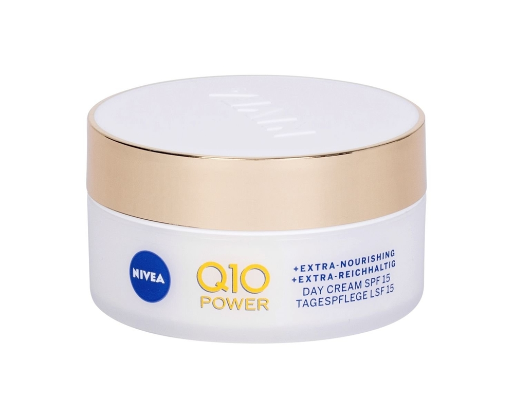 Nivea Q10 Power Anti-wrinkle + Extra Nourishing Day Cream 50ml Spf15 (Dry - Wrinkles)