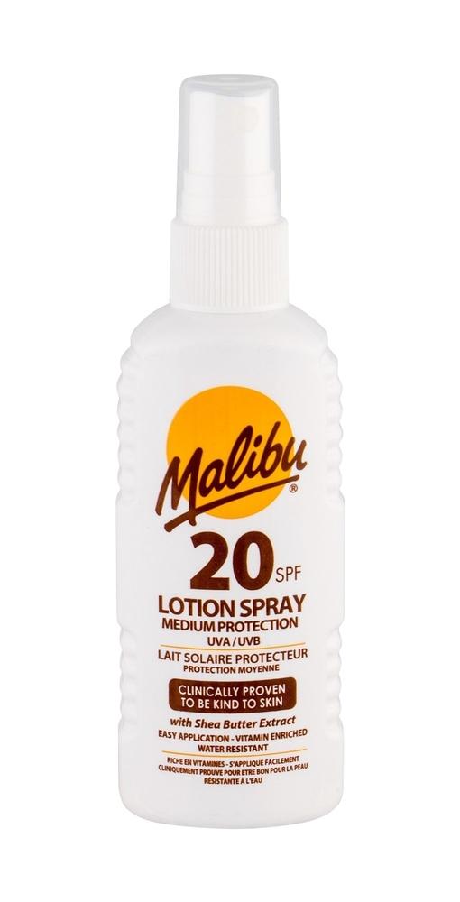 Malibu Lotion Spray Sun Body Lotion 100ml Waterproof Spf20