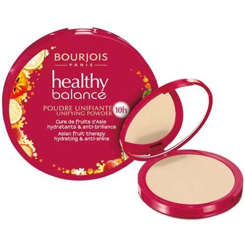 Bourjois Paris Healthy Balance 53 Light Beige 9g oμορφια   μακιγιάζ   μακιγιάζ προσώπου   πούδρες προσώπου