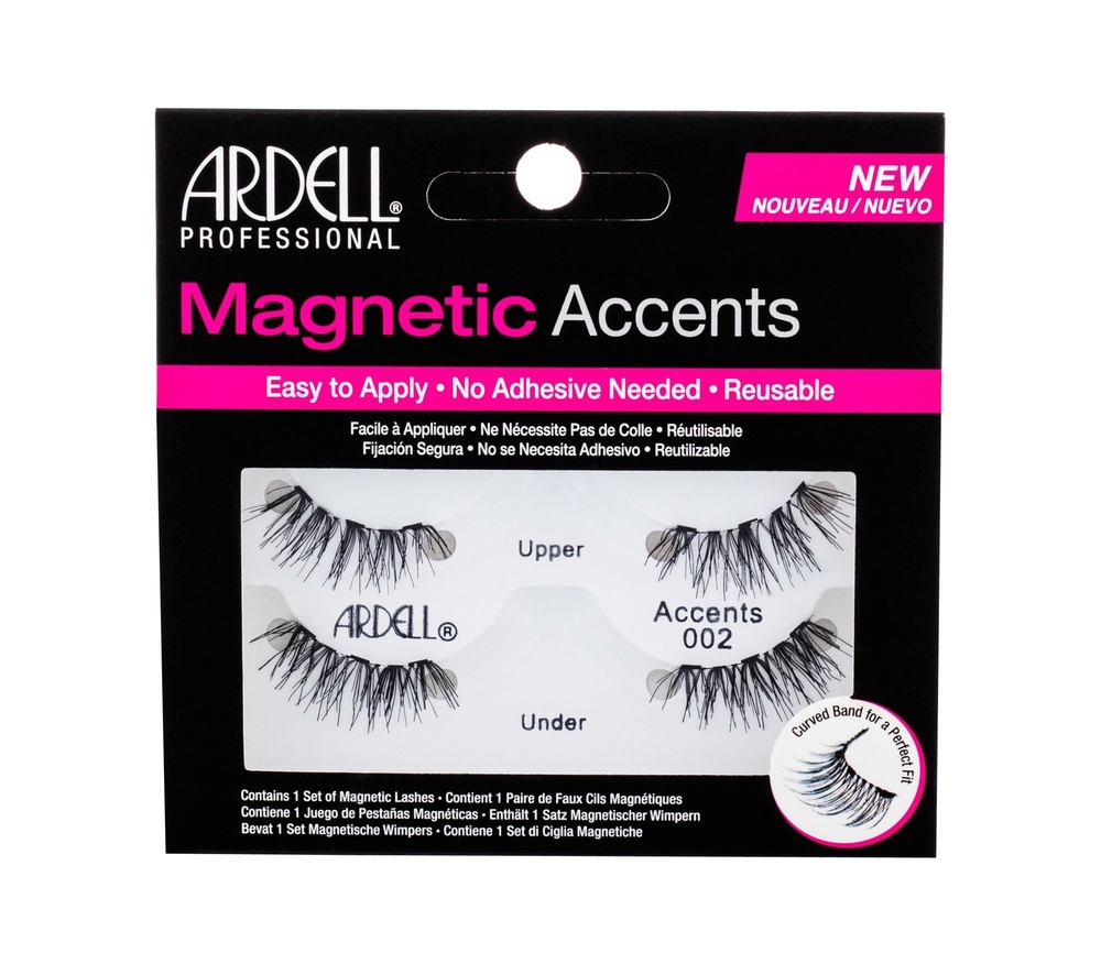 Ardell Magnetic Accents Accents 002 False Eyelashes 1pc Black