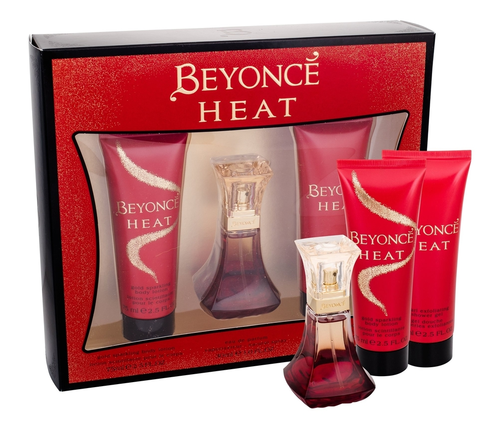 Beyonce Heat Eau De Parfum 30ml Combo: Edp 30ml + 75ml Shower Gel + 75ml Body Lotion