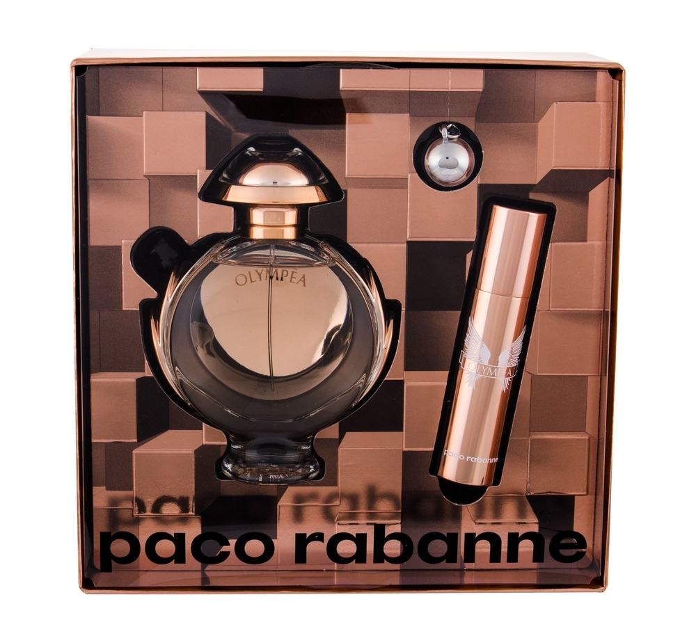Paco Rabanne Olympea Eau De Parfum 50ml - Set Combo Edp 50 Ml + Edp 10 Ml + Key Ring
