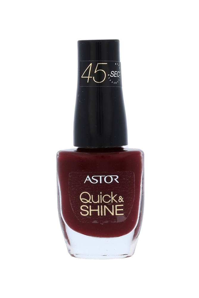 Astor Quick & Shine Nail Polish 8ml 302 Glass Of Wine