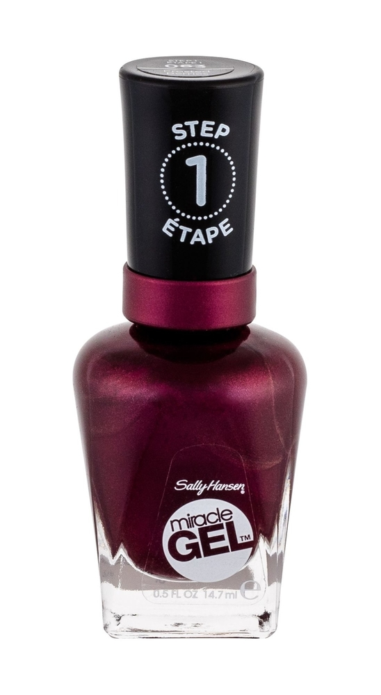 Sally Hansen Miracle Gel Step1 Nail Polish 14,7ml 063 Frosted Berries