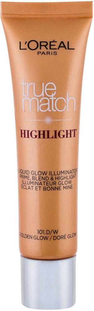 L´oréal Paris True Match Highlight Liquid Glow Brightener 101.D/W Golden Glow 30ml