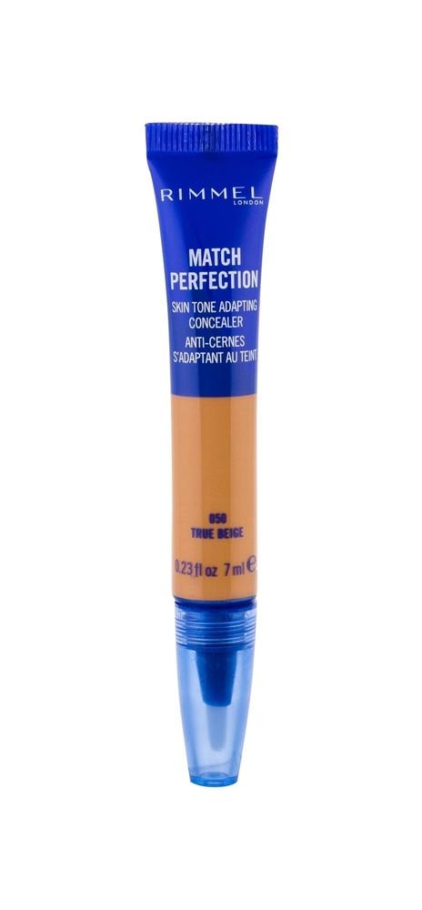 Rimmel London Match Perfection 2in1 Concealer Highlighter Corrector 7ml 050 True Beige