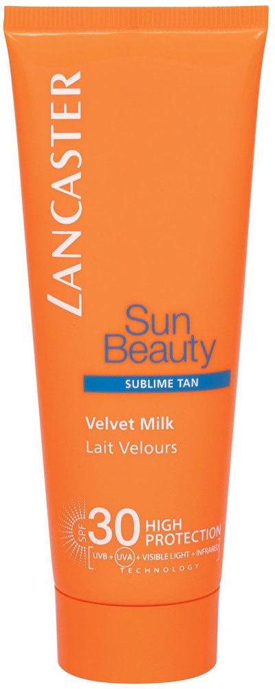 Lancaster Sun Beauty Velvet Milk SPF30 Sun Body Lotion 75ml
