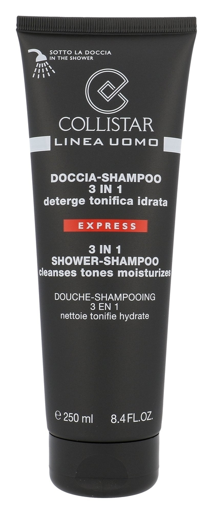 Collistar Men 3in1 Shampoo 250ml (All Hair Types)