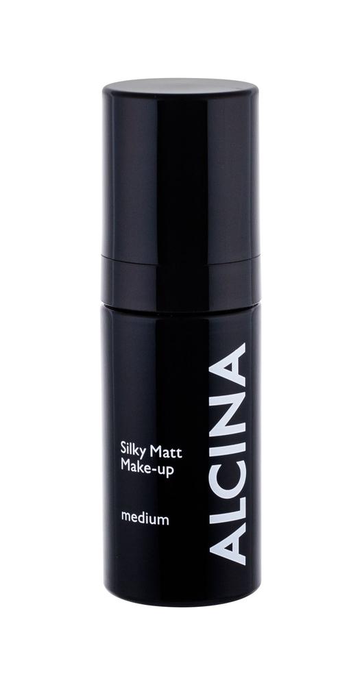 Alcina Silky Matt Makeup 30gr Spf15 Medium