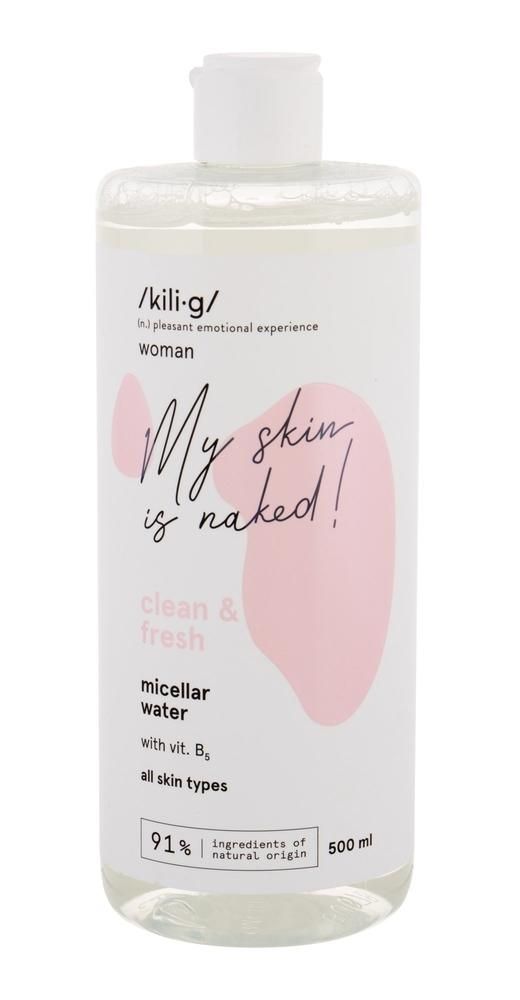 Kili·g Woman Clean Fresh Micellar Water 500ml (All Skin Types)