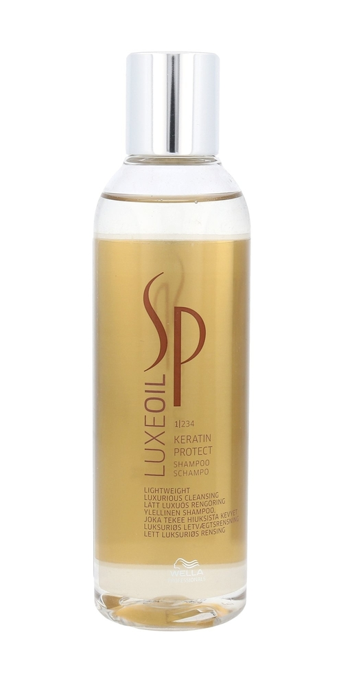 Wella Sp Luxeoil Keratin Protect Shampoo 200ml (Damaged Hair)