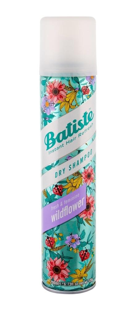 Batiste Wildflower Dry Shampoo 200ml (Oily Hair)