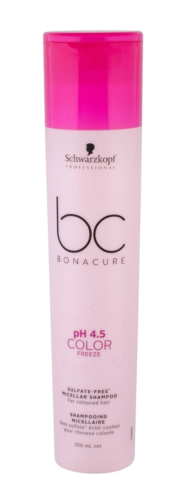Schwarzkopf Bc Bonacure Ph 4.5 Color Freeze Shampoo 250ml (Colored Hair)