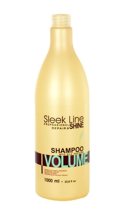 Stapiz Sleek Line Volume Shampoo 1000ml (Fine Hair - Dry Hair)