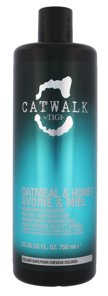 Tigi Catwalk Oatmeal & Honey Shampoo 750ml (Damaged Hair)