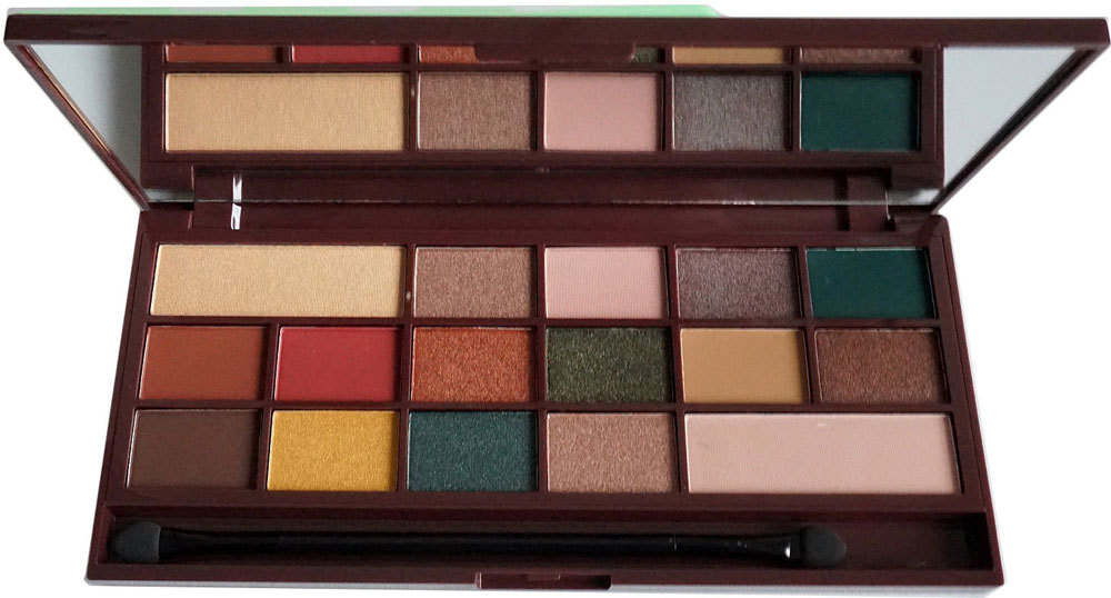 Makeup Revolution London I Heart Revolution Chocolate Eye Shadow Mint Chocolate 22gr