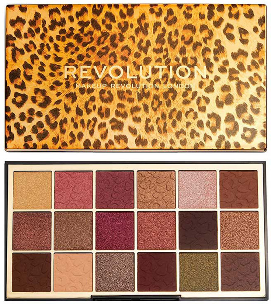 Makeup Revolution London Wild Animal Eye Shadow Courage 18gr