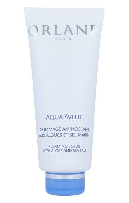 Orlane Body Aqua Svelte Slimming Scrub With Algae And Salt Cellulite And Stretch Marks 200ml