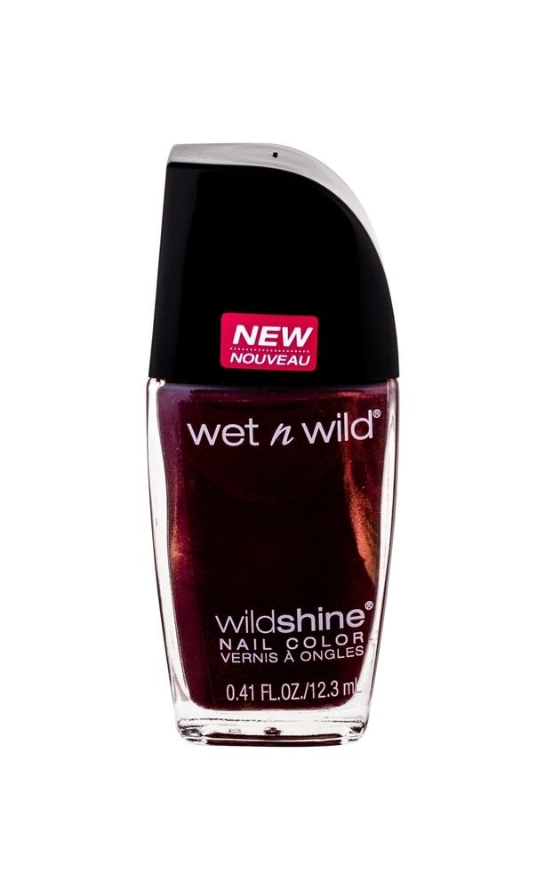 Wet N Wild Wildshine Nail Polish 12,3ml E486c Burgundy Frost