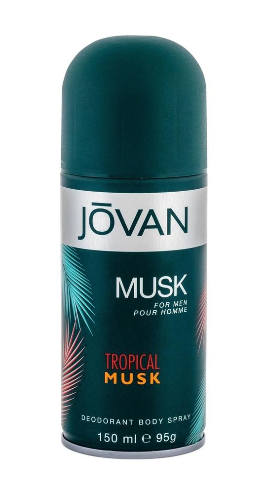 Jovan Tropical Musk Deodorant 150ml (Deo Spray)