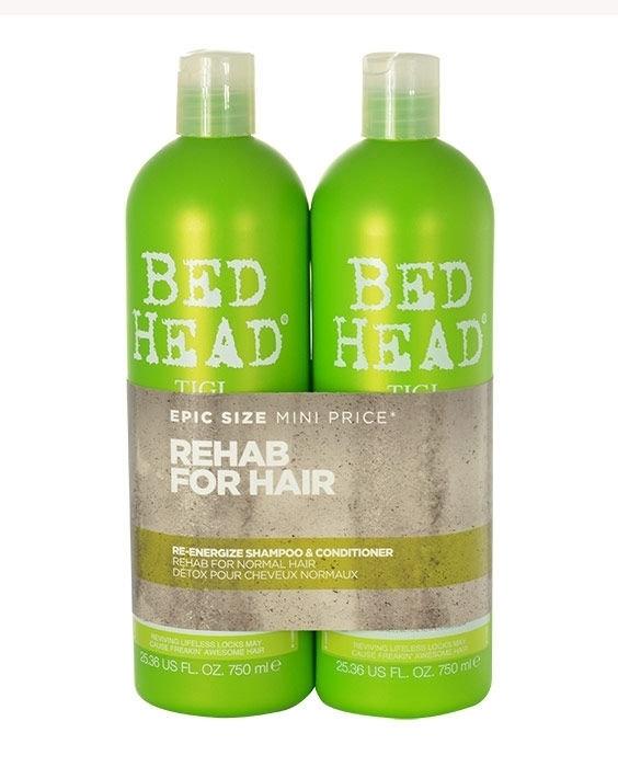 Tigi Bed Head Re-energize Shampoo 750ml Combo: 750ml Bed Head Re-energize Shampo oμορφια   μαλλιά   φροντίδα μαλλιών   σαμπουάν