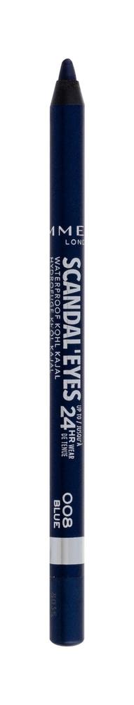 Rimmel London Scandal Eyes Kajal Eye Pencil 1,3gr Waterproof 24hr 008 Blue