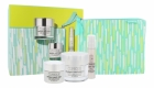 Clinique Smart Day Cream 50ml Combo: Moisturizing Clinique Smart Spf15 + Skin Serum Clinique Smart Custom 10 Ml + Night Cream Clinique Smart Night 15 Ml + Bag (First Wrinkles - Dry - Very Dry)