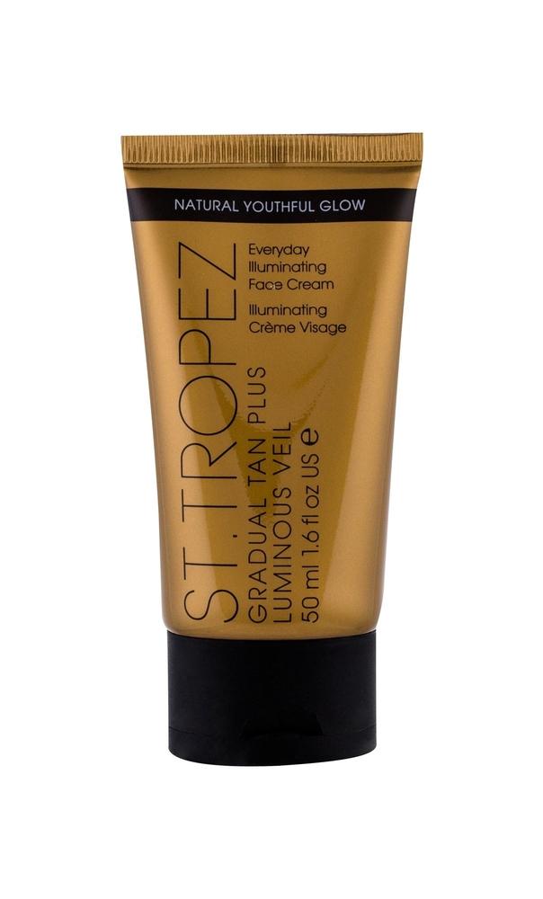 ST.TROPEZ Gradual Tan Plus Luminous Veil stopniowo opalajacy krem do twarzy z efektem rozswietlania 50ml