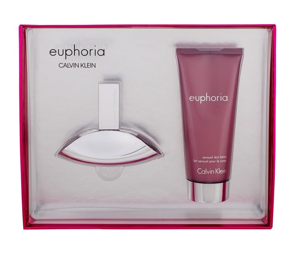 Calvin Klein Euphoria Eau De Parfum 30ml Combo: Edp 30ml + 100ml Body Lotion