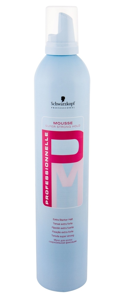 Schwarzkopf Professionnelle Super Strong Hold Hair Mousse 500ml (Extra Strong Fixation)