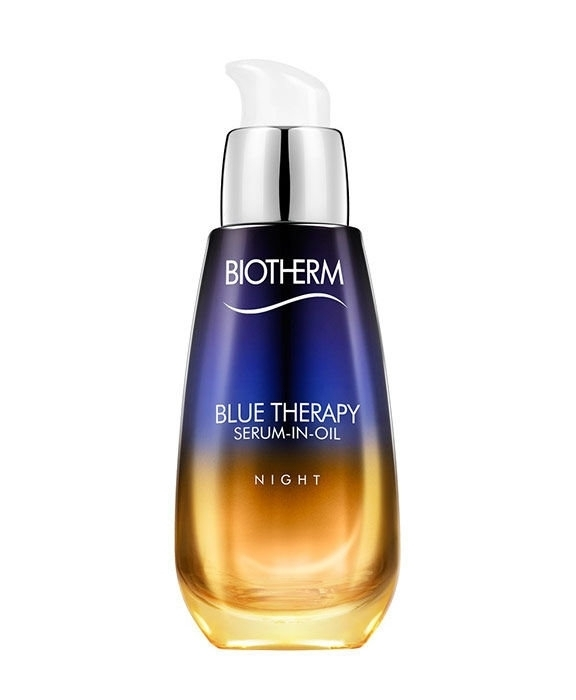 Biotherm Blue Therapy Serum In Oil Night Skin Serum 30ml (All Skin Types - For All Ages)