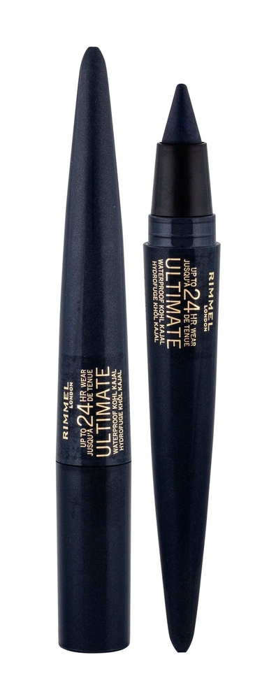 Rimmel London Ultimate Eye Pencil 1,6gr Waterproof 24hr 004 Carbon Sapphire