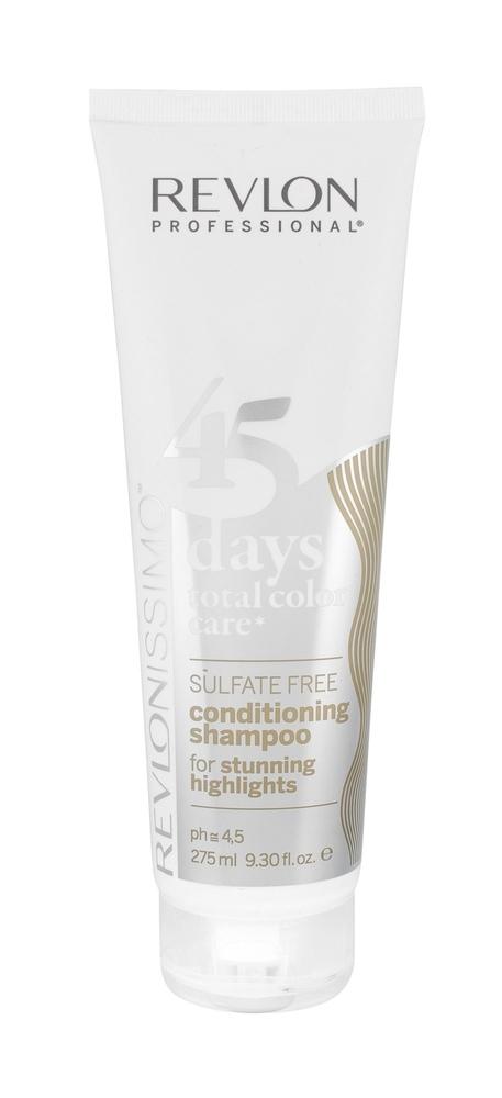 Revlon Professional Revlonissimo 45 Days 2in1 For Stunning Highlights Shampoo 275ml (Blonde Hair)